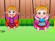Hazel Brinca Com Amiguinho