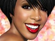 Maquiar a Kelly Rowland