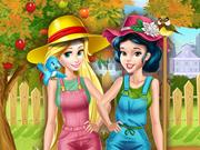 Princesas Disney: Jardineiras Profissionais