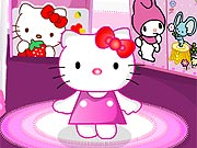 Hello Kitty Decora o Quarto