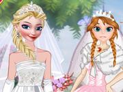 Elsa e Anna: Noivas Frozen