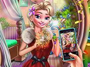 Elsa e a Selfie do Ano Novo