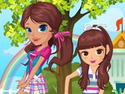 Duas Irmãs na Escola