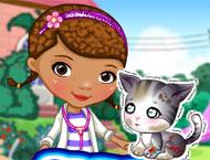 Doutora Brinquedos Cuida da Gatinha