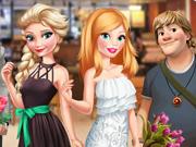 O Encontro da Barbie e da Princesa Elsa