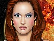 Maquiar a Angelina Jolie