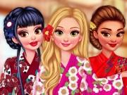 Decore os Quimonos das Princesas e da Barbie