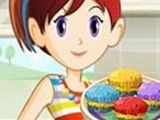 Sara Cozinha Cupcake Arco Iris