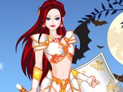 Vista a Princesa Guerreira