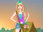Vista Barbie Princesa de Campismo