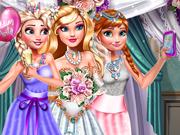 Elsa e Anna Tiram Selfie no Casamento