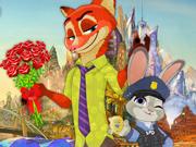 Vista a Judy e o Nick