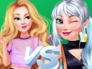 Barbie e Elsa na Escola