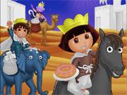 Colorir Dora e Amigos