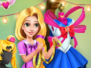 Rapunzel se Veste de Sailor Moon