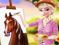 Elsa Professora de Desenho