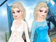 Elsa em Nova York