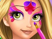 Pinte o Rosto da Rapunzel