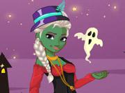 Princesa Elsa Fantasia Halloween
