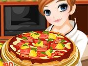 Cozinhando Pizza com a Tessa