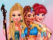 Escolha Fantasias para as 5 Princesas