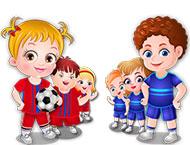 Baby Hazel Dia de Esportes
