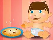 O bebê está com fome