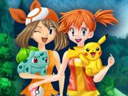Pokémon: Vista a Misty e a May