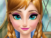 Limpe e Maquie a Anna do Frozen
