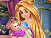 Rapunzel Cuida do Bebê