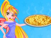 Winx: Flora Prepara uma Pizza Deliciosa