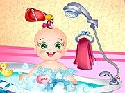 Bebê Rosy Toma Banho