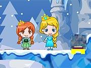 Elsa e Anna Aventura Congelante