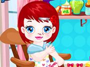 Bebê Lulu Corta Cabelo