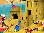 Encontrar Objetos no Castelo de Areia