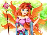 Vista a Princesa das Fadas